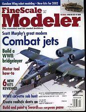 Fine Scale Modeler Magazine April 2002 Build a WWII bridgelayer