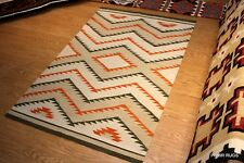 NAVAJO DESIGN Southwestern style 5x8 ft. hand woven kilim SHIRVAN CAUCASIAN RUG