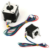 CNC 1.8 Degree NEMA17 1.7A 40mm 2 Phase 4Lead Stepper Motor For 3D Printer Tool