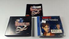 Resident Evil 2 + Code Veronica ~ Sega Dreamcast DC PAL Rare OVP CIB Komplett