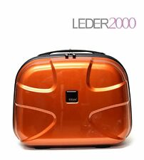 Titan Beautycase Kosmetikkoffer X2 Flash Metallic Orange Copper Hartschale