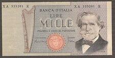 R3 Rara 1.000 lire VERDI Serie speciale sostitutiva XA..K Italy 1000 Replacement