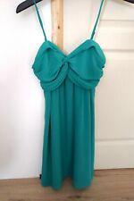 Robe Soirée Marque Pimkie Femme 34 36 XS S bretelles ajustables Vert Neuf été