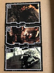 Star Wars 30th Anniversary Topps Tryptich 3 Card Puzzle, Hidden In Plain Sight.