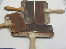 Lot Of 4 Taping Knife Filling Drywall Plastering Finishing Spatula 3 12 1 8