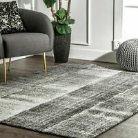 nuLOOM Contemporary Joann Area Rug in Gray