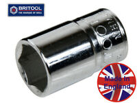 "BRITOOL ENGLAND 1//4/""SD 6PC AF HEXAGON BIT SOCKET SET S1BSET6"