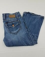 VIGOSS Embroidered Slim Boot Cut Jeans Size 5/6