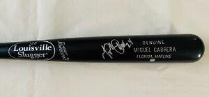 "MIGUEL CABRERA Signed 34"" Louisville Slugger 125 Game Model Bat - MLB"