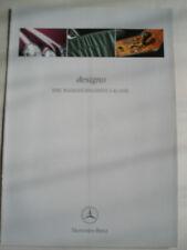 Mercedes E Class Designo brochure Feb 1999 German text