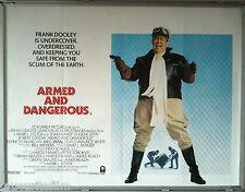 Cinema Poster: ARMED AND DANGEROUS 1986 (Quad) John Candy Meg Ryan Eugene Levy