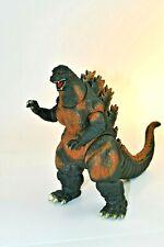 "Bandai 1995 Burning Desu Goji Godzilla Figure  measures 9"" tall and 13"" wide"