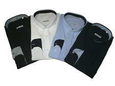 Camicia uomo manica lunga 100% COTONE taglie forti calibrata 2XL-10XL