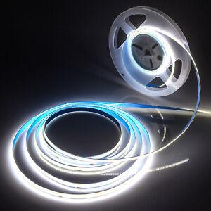 COB Flex LED Strip Tape 320LEDs/m High Density Light Linear White Dimmable DC12V