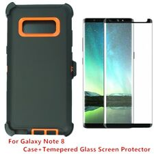 For Samsung Galaxy Note 8 Defender Case W/Screen (Blet Clip Fits Otter