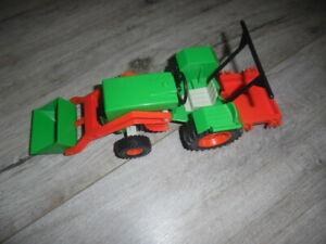 Playmobil Grüner Traktor zum Bauernhof
