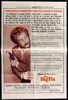 Richard Dreyfuss THE BIG FIX ORIGINAL 1978 One Sheet MOVIE POSTER  27 x 41 1