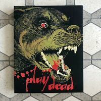 PLAY DEAD Vinegar Syndrome Blu-Ray/DVD Combo with Slipcover