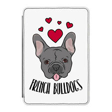 "Love French Bulldogs Case Cover for Kindle 6"" E-reader - Funny Dogs Dog Puppy"