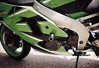 R&G RACING Crash Protector - Kawasaki ZX6R G1/G2/J1/J2/636 2002 *BLACK*