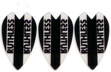 Ruthless Extra Strong Dart Flights - Black MINI Vortex