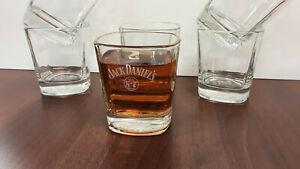 Jack Daniels Glass. Box Set Of 6 Glasses ( Old No7 Brand )