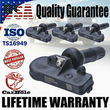 4x TPMS Tire Pressure Sensor 315MHz For 07-19 Chevy GMC Buick 13581558 13586335