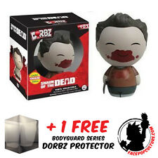 FUNKO DORBZ SHAUN OF THE DEAD ED BLOODY CHASE PIECE + FREE DORBZ PROTECTOR
