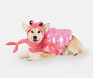 Pet Hermit Crab Set Vest and Headpiece Dog Halloween Costume Size Medium