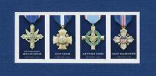 Scott #5065-68 Service Cross Medals ( Strip of 4 ) 2016 Forever MNH