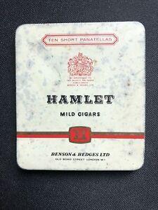 Vintage HAMLET Panatella Cigar Tobacco Tin