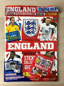 Panini England 2016 Official Sticker Collection 2016 Starter Pack BNIB