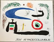 """Joan Miró """"Sleep Under The Moon"""" Print 1976 from Pace/Columbus"""