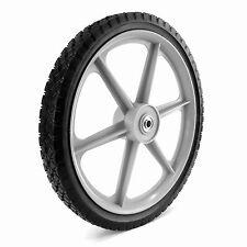 "16"" x 1.75"" High Plastic Spoke Wheel Lawnmower Part Tire Replacement Lawn Mower"