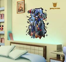 Transformers 3D image home Decor Removable Wall Sticker/Decal/Decorations