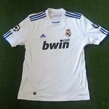 Authentic Cristiano Ronaldo #7 Adidas Real Madrid Jersey XL White/Blue