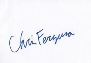 "Chris Ferguson ""Poker"" Autogramm signed 10x15 cm Karteikarte"