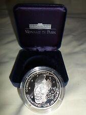100 FRS MONNET ARGENT  15 ECUS  1992