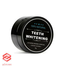Coconut Activated Charcoal Toothpaste Organic Natural Teeth Whitening Powder 30g