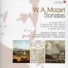 Wolfgang Amadeus Mozart : Sonatas for Violin, Cello and Piano CD (2008)
