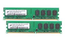 2X 4GB For Micron PC2-6400 DDR2 800Mhz 240Pin Desktop Memory AMD RAM NonECC @MY