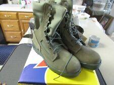 Belleville Female Hot Weather Combat Boots F600 Sage Leather 8 1/2 Reg NIB