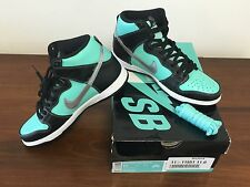 NEW NIKE DUNK HIGH PRM SB X DIAMOND SUPPLY CO. SIZE 11 TIFFANY DS