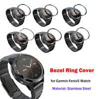 Uhr Lünette Ring Anti-Scratch Etching Numbers Schutzhülle Ring für Garmin Fenix5