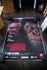 War Of The Planet Of The Apes 4x6 ft Bus Shelter D/S Movie Poster Original 2017