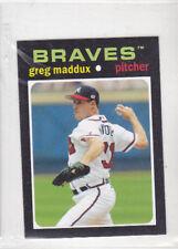 2013 Topps Update 1971 Topps Minis #24  Gregg Maddux Braves