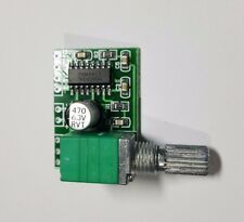 5V Mini Digital Amplifier Board - Includes Switching Potentiometer - Free UK P&P