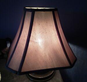 Rectangle Cut Corner Lamp Shade - Linen Beige - 16x16  14 x14   6x6