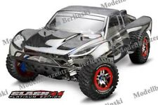 TRAXXAS SLASH 4x4 PLATINUM EDITION new low-CG Chassis, GTR Shocks - 6804r