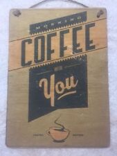 Coffee Decorative Hanging Signs
